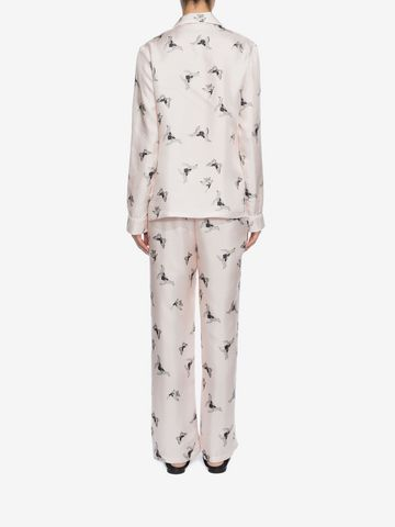 ALEXANDER MCQUEEN Moth Silk Pyjamas  Pyjama D e