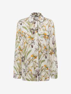 ALEXANDER MCQUEEN Shirts D Wild Iris Pajama Top f