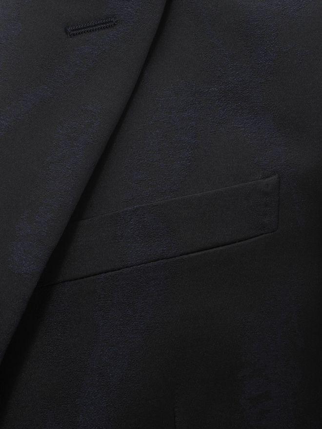 ALEXANDER MCQUEEN Worn away Satin Jacket Tailored Jacket Man a