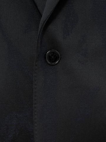 ALEXANDER MCQUEEN Worn away Satin Jacket Tailored Jacket Man l