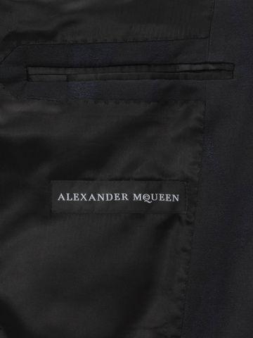 ALEXANDER MCQUEEN Worn away Satin Jacket Tailored Jacket Man m