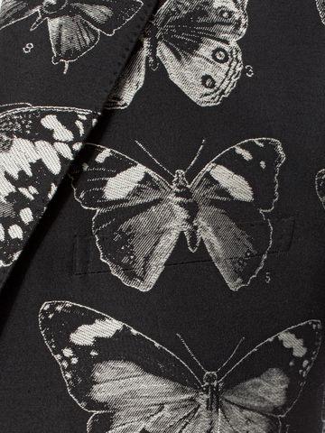 ALEXANDER MCQUEEN Moth Jacquard Jacket Tailored Jacket U a