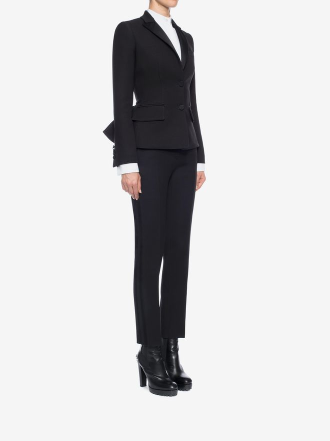 ALEXANDER MCQUEEN Tuxedo Jacket Tailored Jacket D d