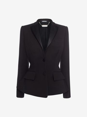 ALEXANDER MCQUEEN Tuxedo Jacket Tailored Jacket D f