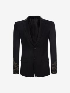 ALEXANDER MCQUEEN Tailored Jacket U Embroidered 28in Jacket f