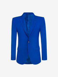 ALEXANDER MCQUEEN Tailored Jacket U McQueen Shoulder 28in Jacket f