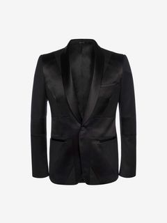 ALEXANDER MCQUEEN Tailored Jacket U Union Jack Tuxedo Jacket f