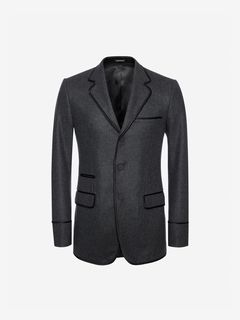 ALEXANDER MCQUEEN Tailored Jacket U Flannel Jacket f