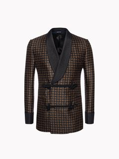 ALEXANDER MCQUEEN Tailored Jacket U Mini Paisley Smoking Jacket f