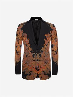 ALEXANDER MCQUEEN Tailored Jacket U Engineered Paisley Jacket f