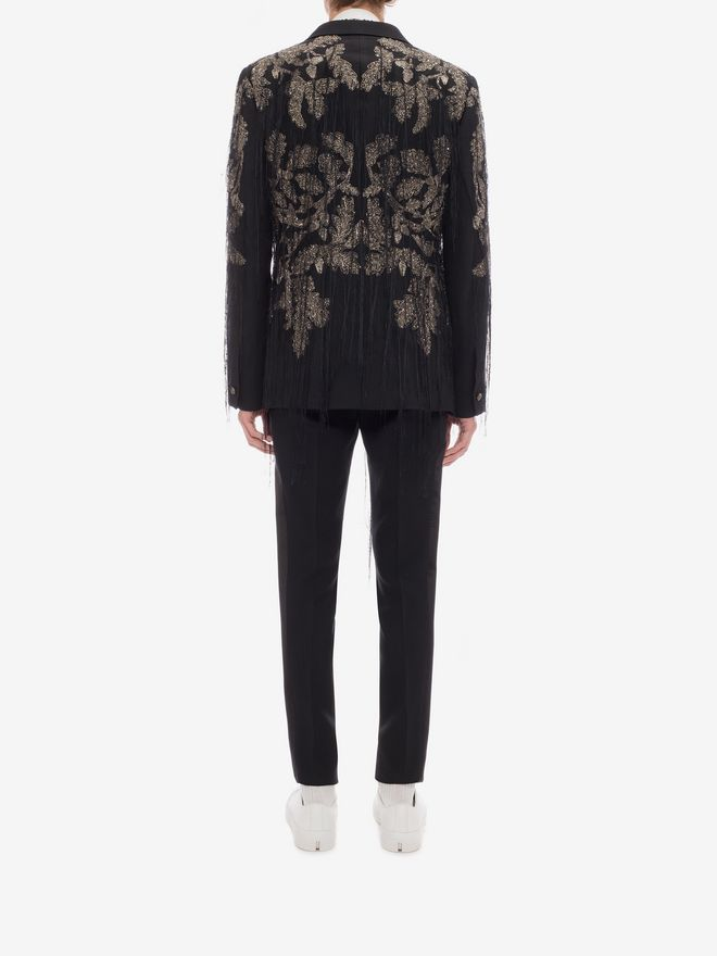 """ALEXANDER MCQUEEN """"Tree of Life"""" Embroidered Jacket Tailored Jacket Man e"""