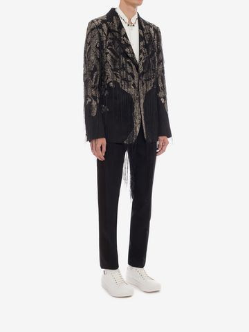 """ALEXANDER MCQUEEN """"Tree of Life"""" Embroidered Jacket Tailored Jacket Man d"""