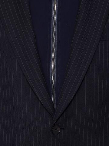ALEXANDER MCQUEEN Pinstripe Bib Jacket Tailored Jacket Man a