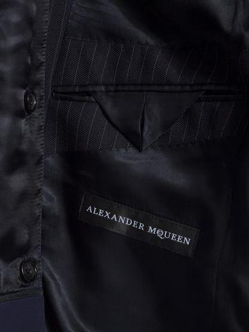 ALEXANDER MCQUEEN Pinstripe Bib Jacket Tailored Jacket Man l
