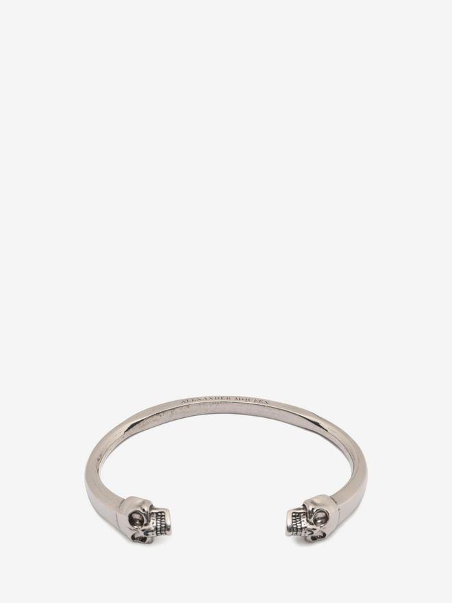 ALEXANDER MCQUEEN Bracelet jonc Twin Skull Bracelet U f