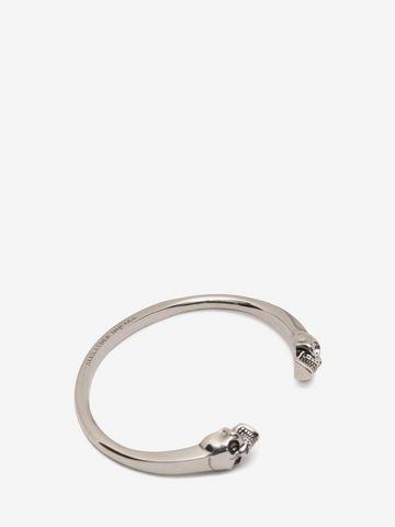 ALEXANDER MCQUEEN Bracelet jonc Twin Skull Bracelet U d