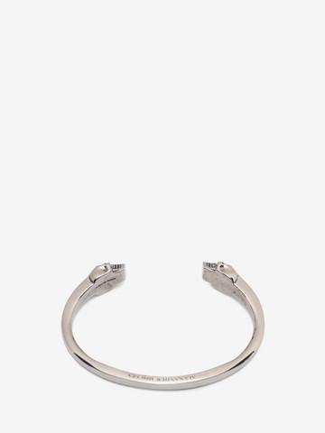 ALEXANDER MCQUEEN Bracelet jonc Twin Skull Bracelet U r