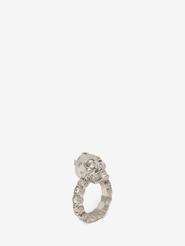 ALEXANDER MCQUEEN Jewelled Skull Ring Ring D r