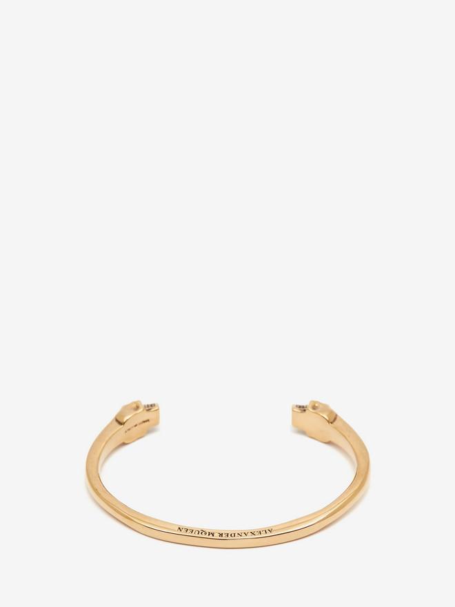 ALEXANDER MCQUEEN Twin Skull Bracelet Bracelet Man r