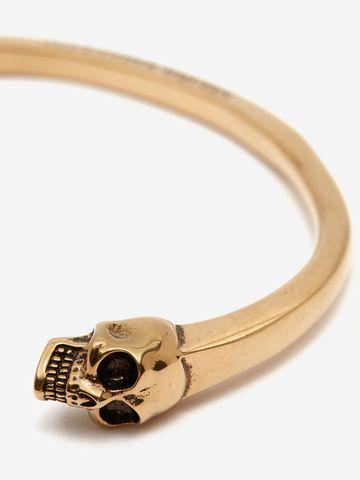 ALEXANDER MCQUEEN Twin Skull Bracelet Bracelet Man d