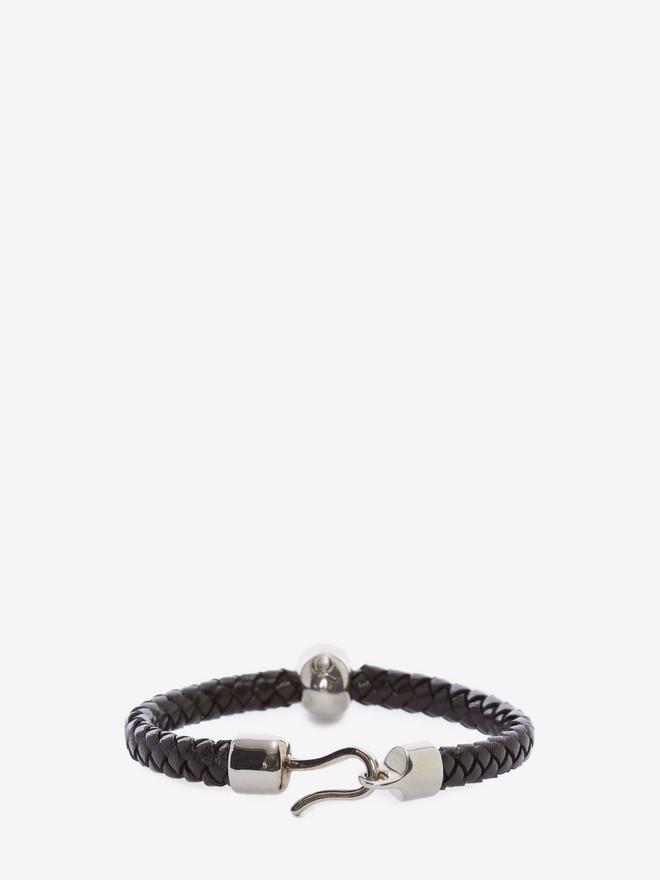 ALEXANDER MCQUEEN Skull Leather Bracelet Bracelet U r