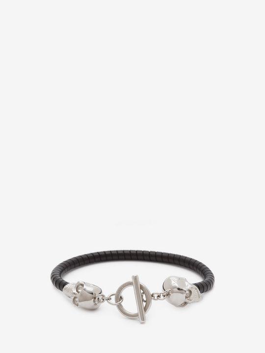 ALEXANDER MCQUEEN Bracelet Man T-Bar Skull Bracelet f