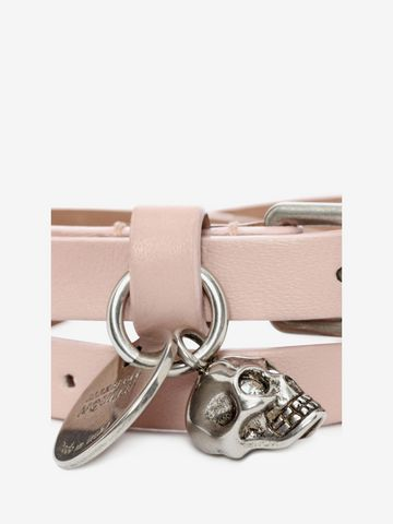 ALEXANDER MCQUEEN Double Wrap Skull Bracelet Bracelet D d