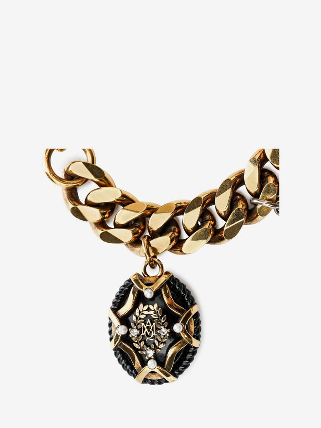 ALEXANDER MCQUEEN Charms Bracelet Bracelet D d