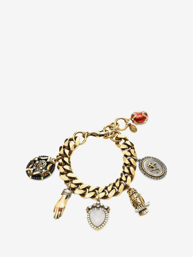 ALEXANDER MCQUEEN Charms Bracelet Bracelet D f