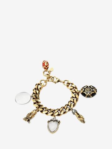ALEXANDER MCQUEEN Charms Bracelet Bracelet D r