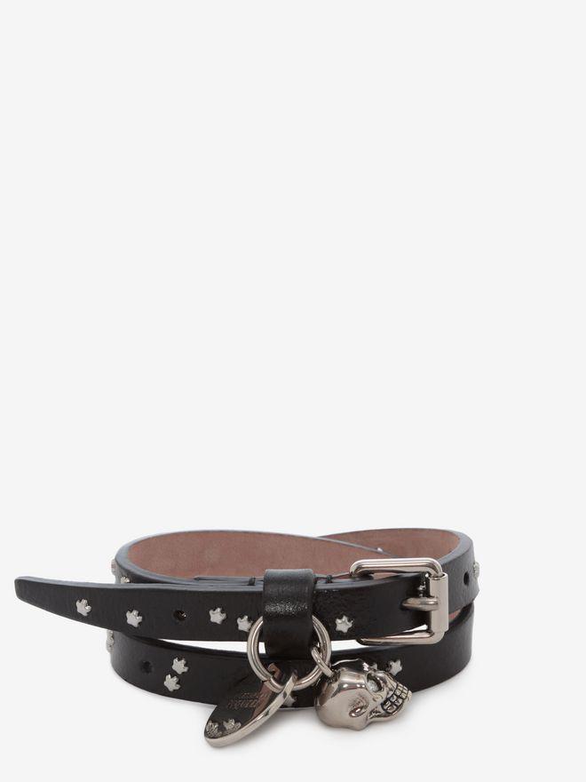 ALEXANDER MCQUEEN Double-wrap Star-Studded Bracelet Bracelet U f