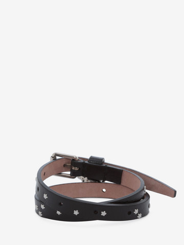 ALEXANDER MCQUEEN Double-wrap Star-Studded Bracelet Bracelet U r
