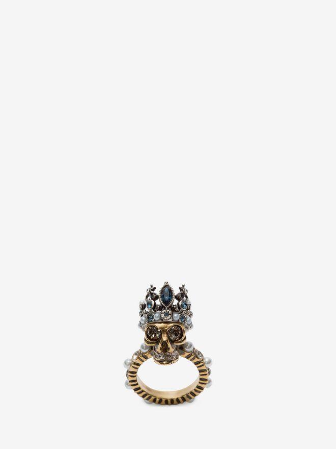 Queen Skull Ring Alexander Mcqueen
