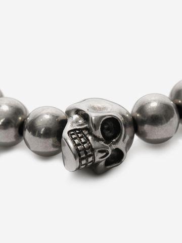 ALEXANDER MCQUEEN Skull multibeaded bracelet Bracelet Man d