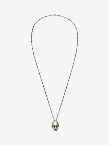 ALEXANDER MCQUEEN Divided skull pendant Necklace U f