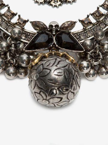 ALEXANDER MCQUEEN Kilt Safety Pin Brooch Necklace D e