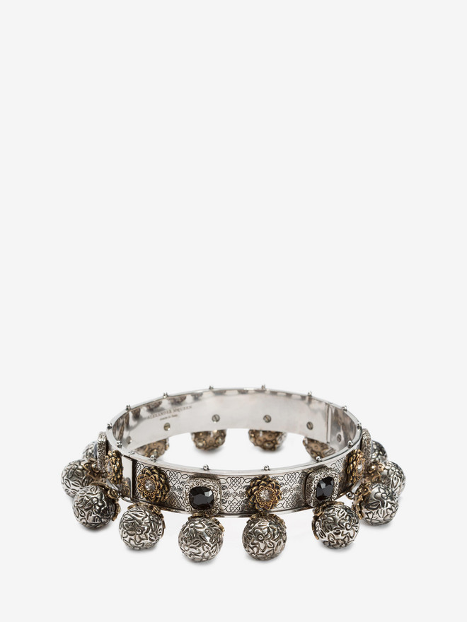 ALEXANDER MCQUEEN Choker with charms Necklace D r