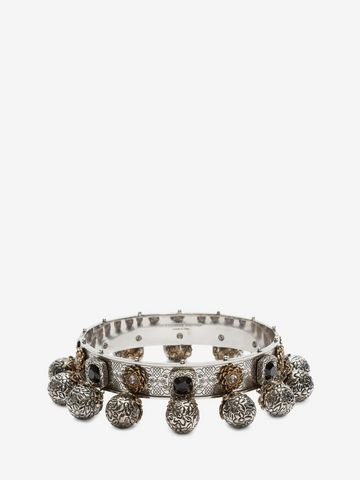 ALEXANDER MCQUEEN Choker with charms Necklace D f