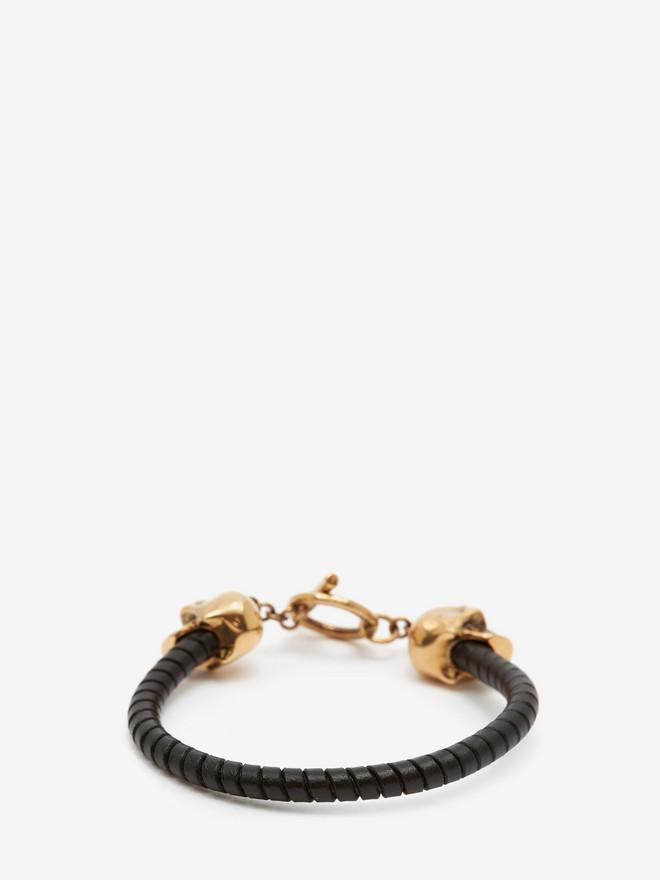 ALEXANDER MCQUEEN T-Bar Skull Bracelet Bracelet U r