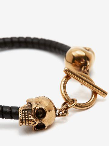 ALEXANDER MCQUEEN T-Bar Skull Bracelet Bracelet U d