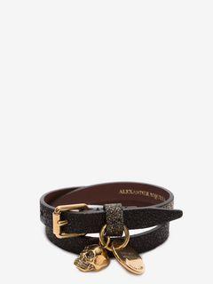 Double-Wrap Glitter Bracelet