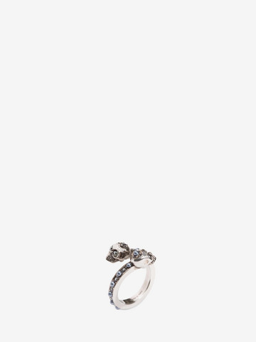 ALEXANDER MCQUEEN Wrap-Around Skull Ring Ring D r