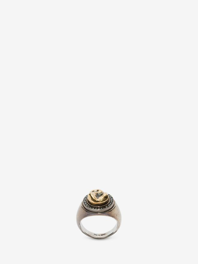 ALEXANDER MCQUEEN Tooth Ring Ring U d