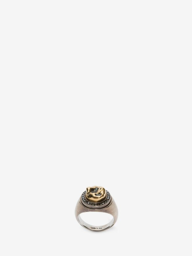 ALEXANDER MCQUEEN Tooth Ring Ring U f