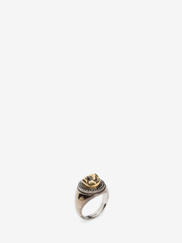 ALEXANDER MCQUEEN Tooth Ring Ring U r