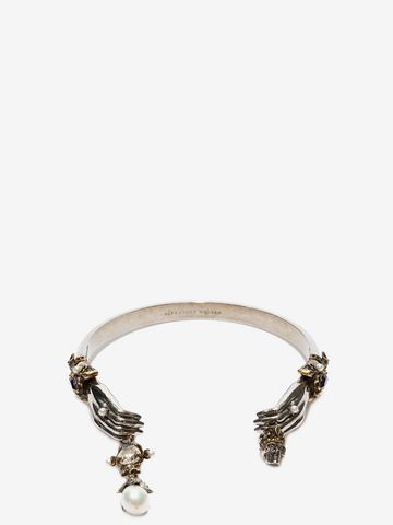 ALEXANDER MCQUEEN Queen And King Bracelet Bracelet Woman f