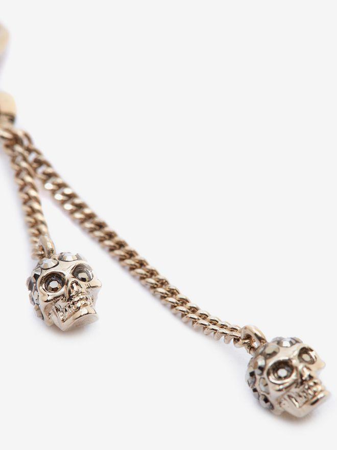ALEXANDER MCQUEEN Chain Skull Earrings Earring Woman d