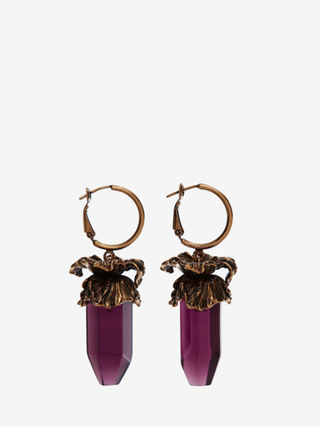 Alexander McQueen Iris pendant earrings lAenNzr