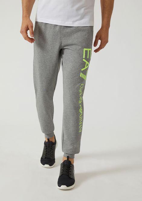 Sweatpants In Fleece for Men | Emporio Armani | Tuggl