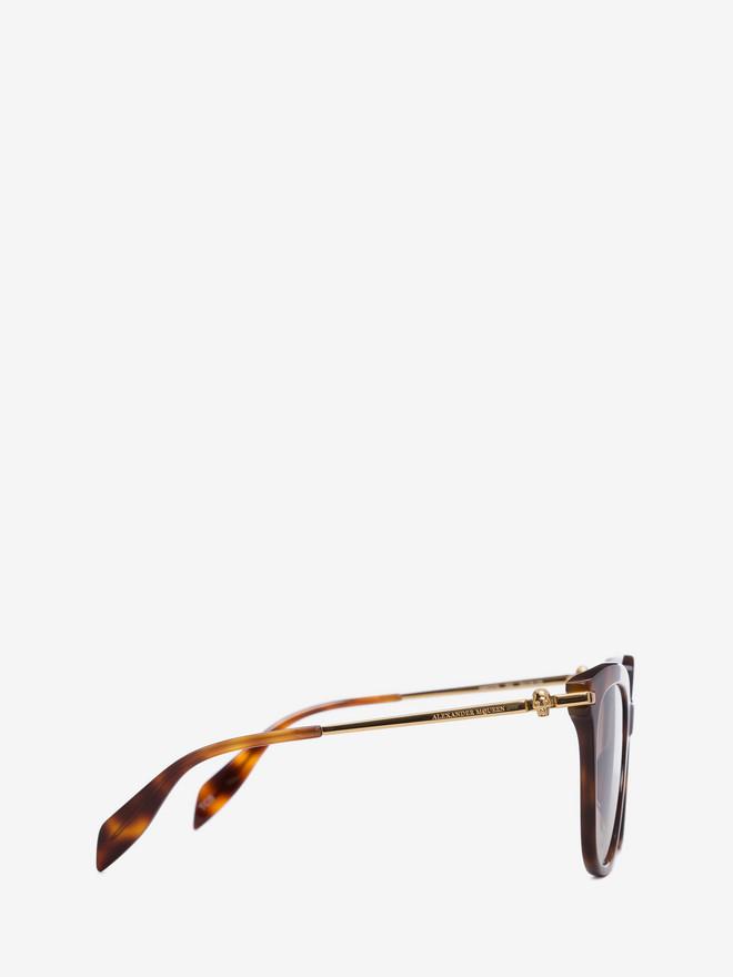ALEXANDER MCQUEEN Skull Frame Sunglasses Woman r